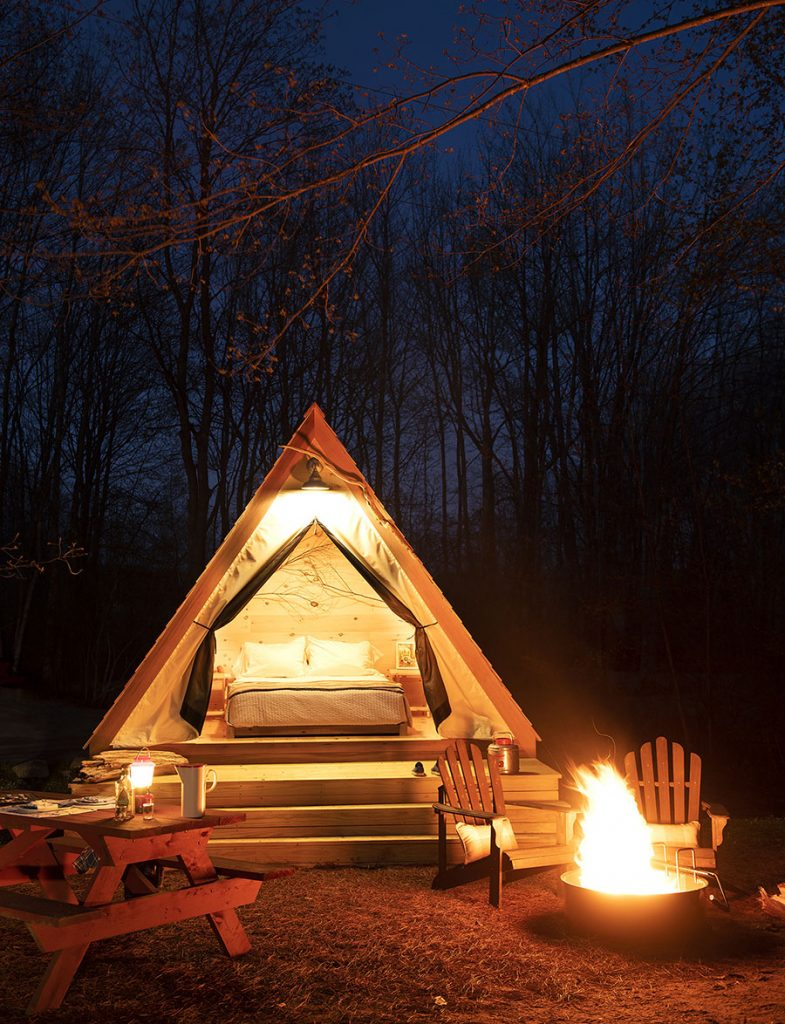 Glamping Rentals Sandy Pines Camping