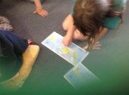 using the map of Indonesian to try to locate where they lived.