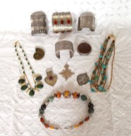 Antique and contemporary silver jewellery from Nepal, Central Asia, Afghanistan and India