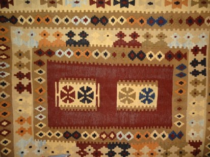 Afghan kilim from norther nAfghanistan