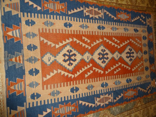 Diamond Patterned Kilim