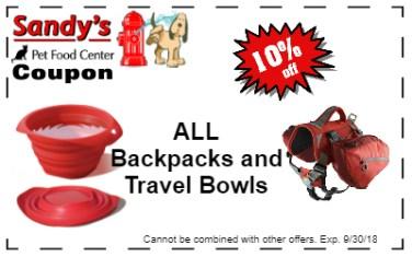 travel bowls backpacks 9-18