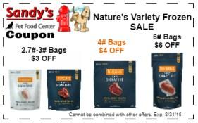 natures variety frozen 8-19
