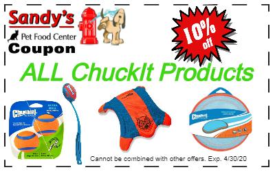 ChuckIt Spring Sale Coupon