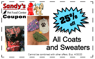 Coats and sweaters coupon