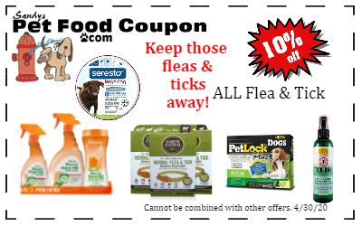 Flea & Tick coupon