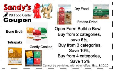 Open Farm Coupon