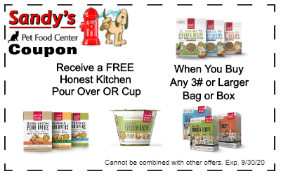 Honest Kitchen coupon