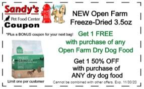 open farm freeze-dried 11-20