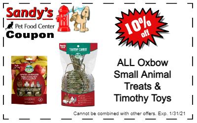 Oxbow toys Coupon