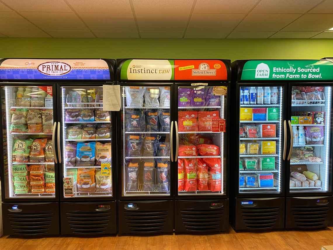 Sandy's freezer section
