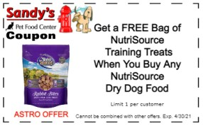 nutrisource dry and treats 4-21