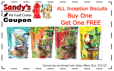 Inception dry coupon