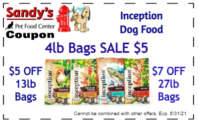 Inception coupons