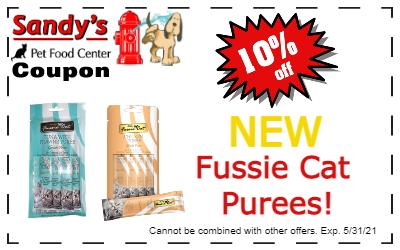 Fussie cat purees coupon