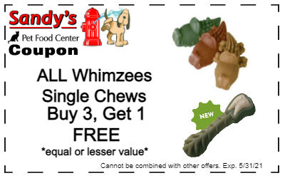 Whimzees coupon