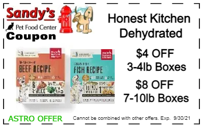 honest kitchen boxes 9-21