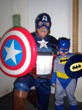 My two favorite super heros.