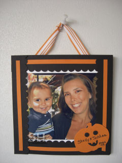 How about a corkboard picture/gift?
