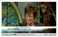 Stampin' Up! CEO Shelley Gardner on Television