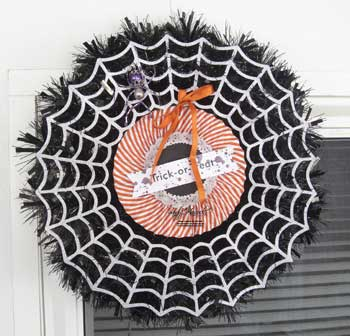 Frightful Wreath Kit from the Holiday Catalog