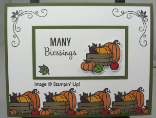 Many Blessings – another take on it