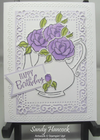 Ornate Layers Dies with the Tea Together Stamp Set