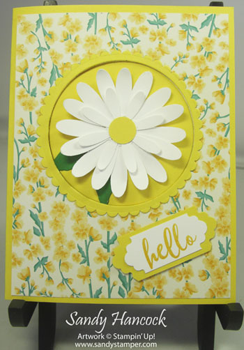 Z-Card – Flowers for Every Season Designer Paper with Video