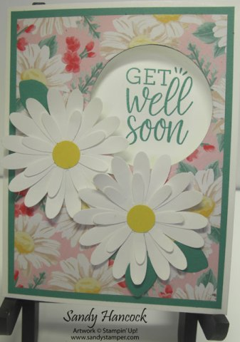 Daisy Surprise Window Card with Video