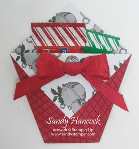 Fun Fold Christmas/Any Occasion Treat with Video