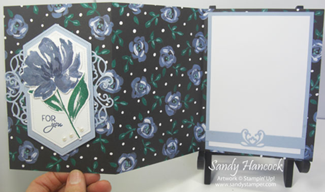 Fun Fold with Flower & Field Designer Paper
