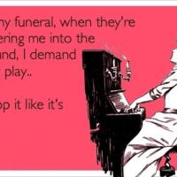 More inappropriate funeral music