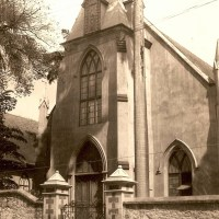 Greyfriars Church of Scotland, Frederick Street, Port of Spain - early 1900s