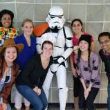 This Halloween, I had the opportunity with some of my classmates to hand out candy to children who were staying at the McMaster University Medical Centre