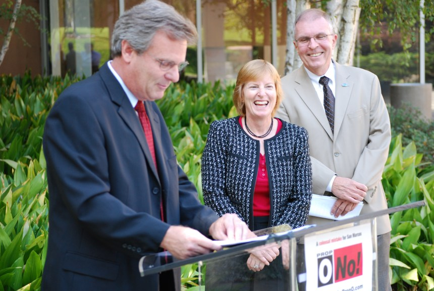 San Marcos Mayor Jim Desmond