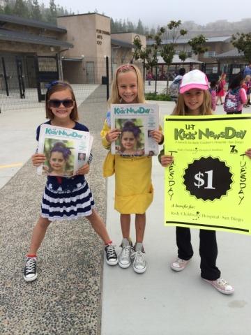 Kids News Day in San Elijo Hills