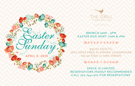 Easter Brunch at St. Mark Golf Club