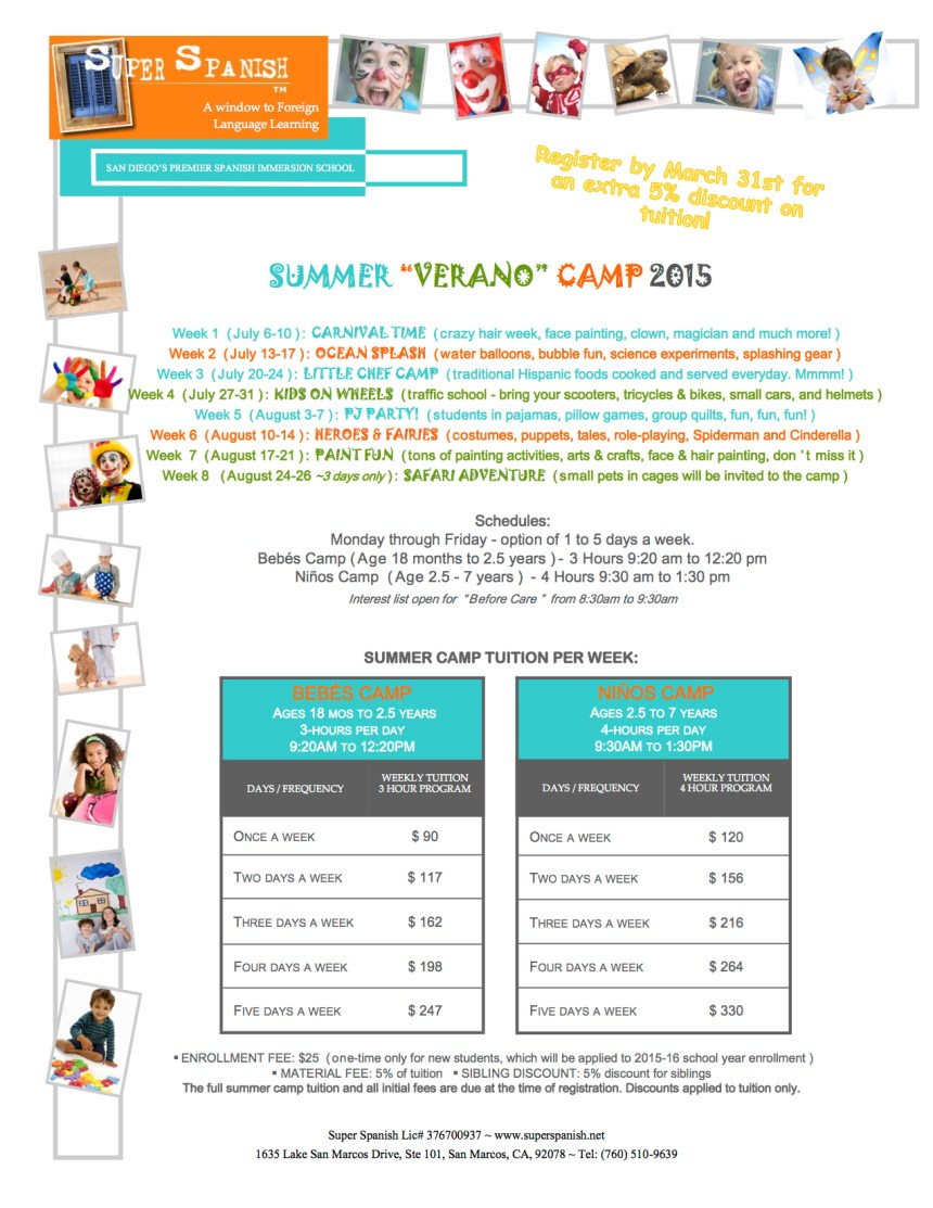 Super Spanish Summer Camp