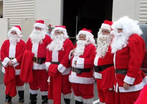 Elf Louise Santas