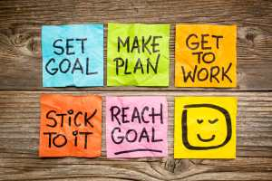Goal setting/success concept/sanespaces.com