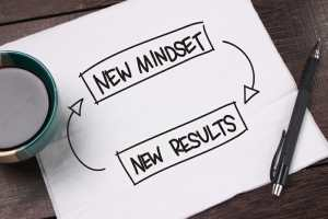 New mindset new results, hiring a coach.