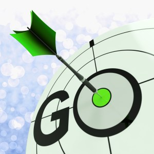 Go Meaning To Start Action To Proceed Forward