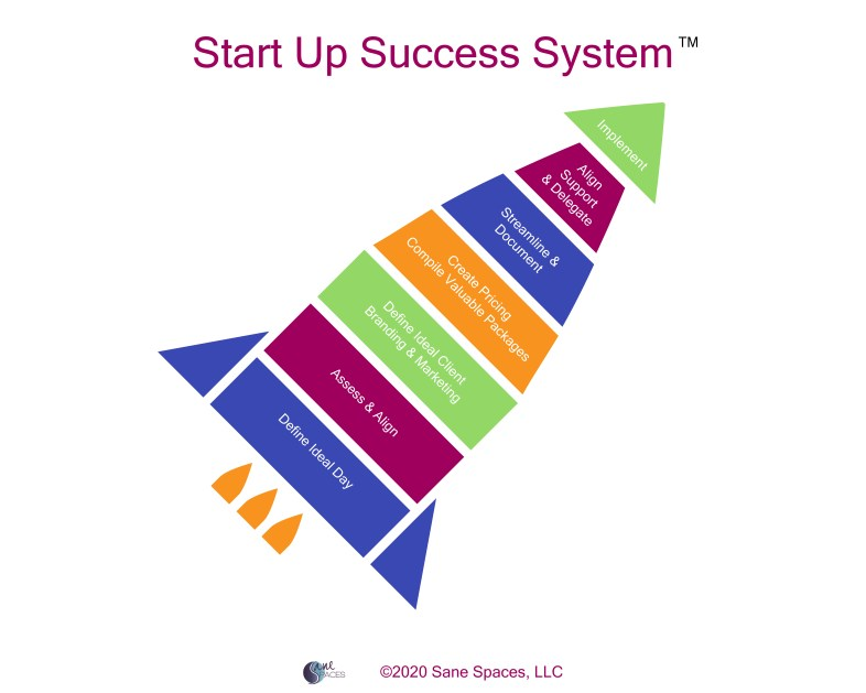 Start Up Success System, Sane Spaces, LLC