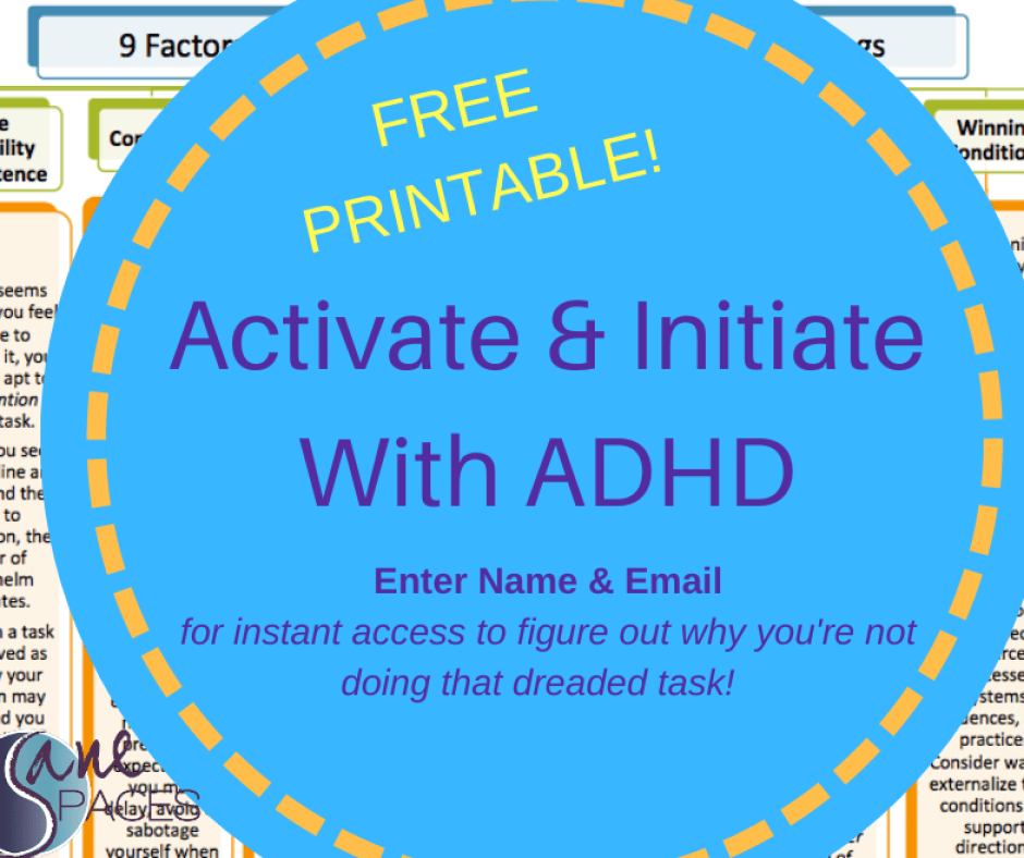 ADHD Activate and Initiate Image