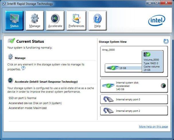 Intel Rapid Storage Technology (RST) 16.5.4.1032 WHQL