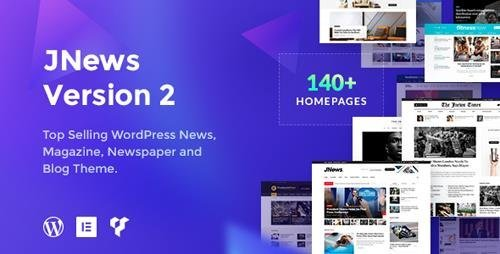 ThemeForest - JNews v2.0.3 - WordPress Newspaper Magazine Blog AMP Theme - 20566392 - NULLED