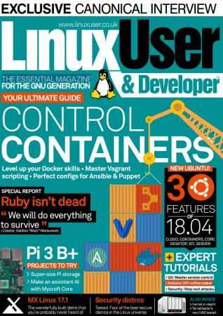 Linux User & Developer - May 2018 (Issue 191
