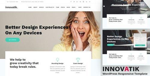 ThemeForest - Innovatik v1.2 - Corporate WordPress Theme - 21006356