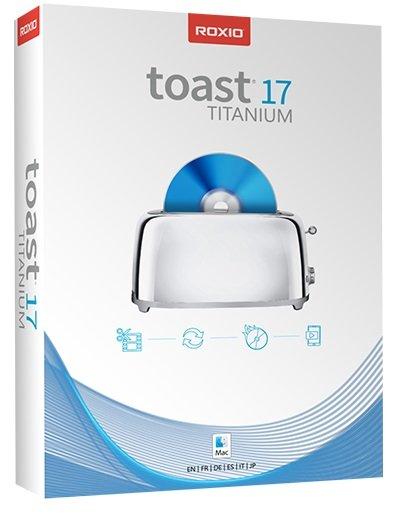 Roxio Toast Titanium 17.1.0 Multilingual macOS