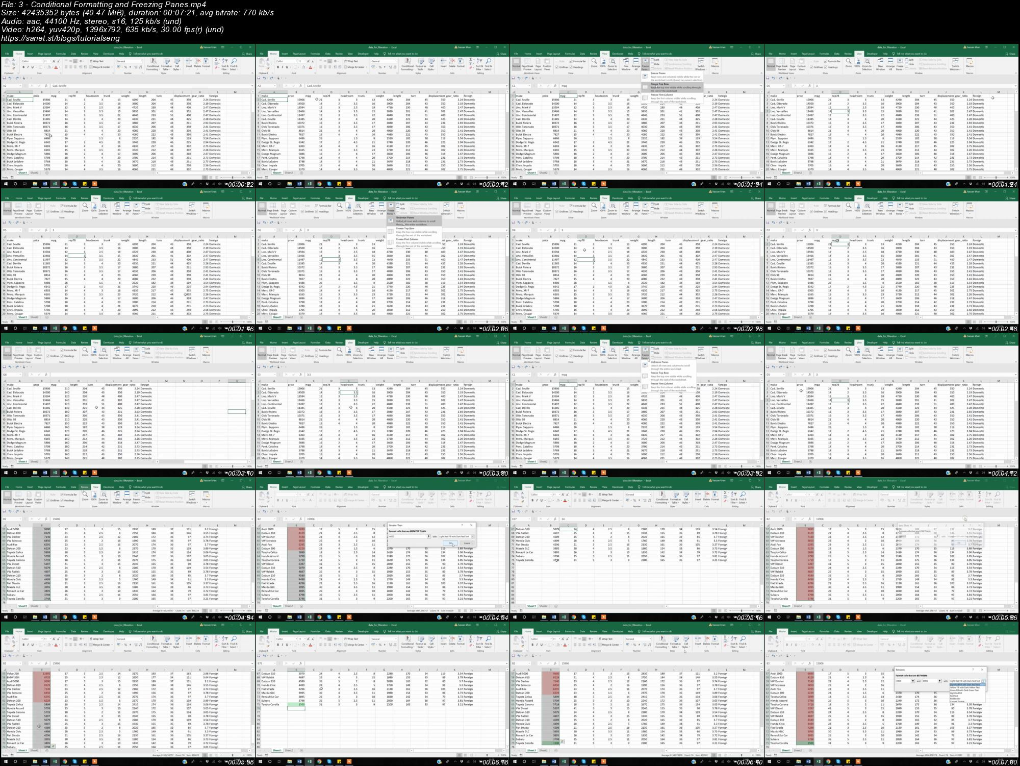 Downloadytics With Microsoft Excel
